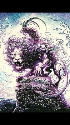 Widespread Panic Red Rocks Poster Sour Grape by Miles Tsang