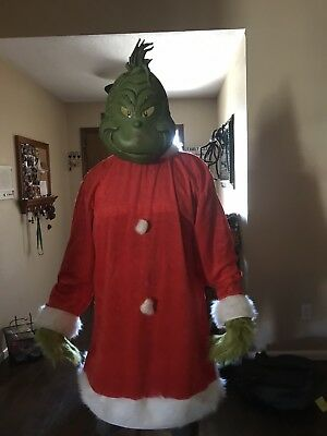 Dr. Seuss Grinch Costume XXL Adult Christmas Who Stole The