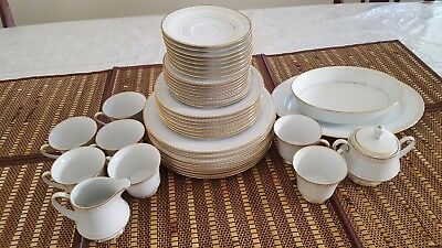 41 Piece  Vintage Noritake Barrington 2030 Dinnerware set Japan