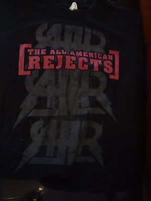 Cool All-American Rejects Battle of Bands T-Shirt, Size Medium, Nice Condition!