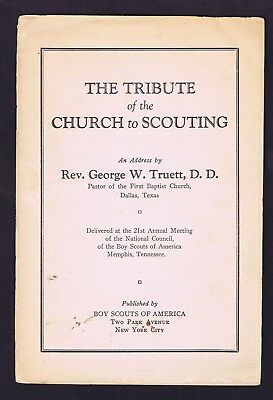 1931 Service Library 21st BSA Annual Meeting Tribute Of The Church 600893