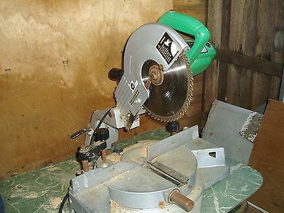 "Sliding compound mitre saw by Craftsman--good working order 10"" blade"