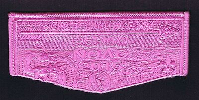 OA Flap 803 Achpateuny NOAC 2015 Pink Ghost Starting at 10 Cents 700130