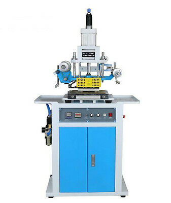 New 220V 80*125mm Pneumatic Hot Foil Stamping Embossing Machine Fast Shipping