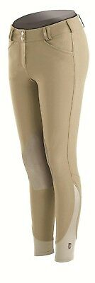 (30L, Tan) - Tredstep Nero Ladies Knee Patch Breech. Tredstep Ireland