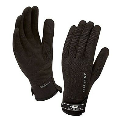 (Medium, Black) - Sealskinz Women's Dragon Eye Gloves. Shipping is Free