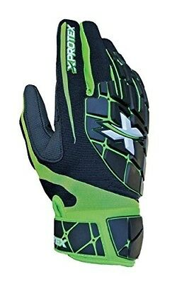 (Youth Small, Black/Green) - Xprotex 17 Raykr Batting Gloves. Shipping Included