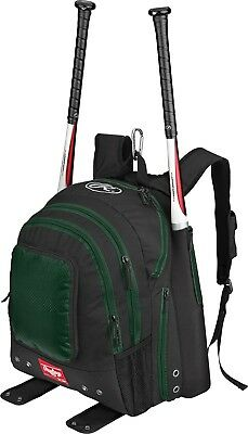 (Dark Green) - Rawlings Bomber Back Pack (Dark Green). Delivery is Free