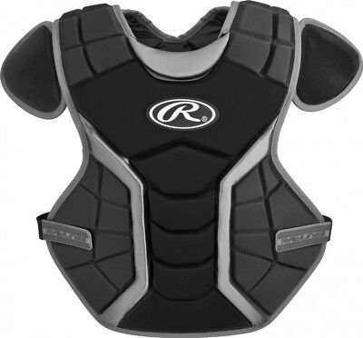 (38cm , Age-12-15, Black) - Rawlings Renegade Chest Protector. Huge Saving