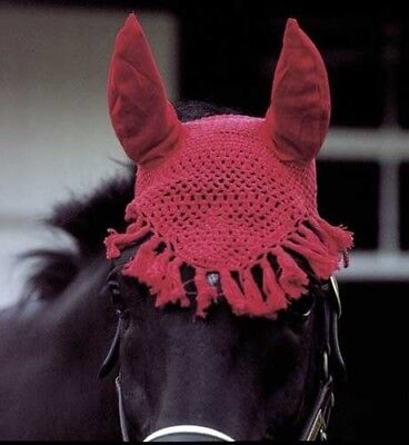 (Black) - Horses Fly Veil. Snowhill. Shipping Included