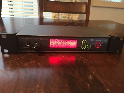 Sennheiser Ew500 G2 Receiver GLOBAL SHIPPING!!!!!
