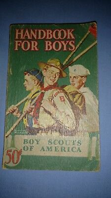 Boy Scouts-Handbook for Boys-1st Edition-39th Printing-1946-Rockwell cover