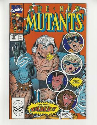 New Mutants #87/Marvel Comic Book/Key Issue/1st Cable/NM-