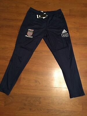 USA Rugby Eagles All Americans Training Travel Track Pants Adidas XL