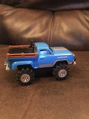 Schaper Stomper Dodge Ramwagon On Side Clip Chassis Lights Work And Runs