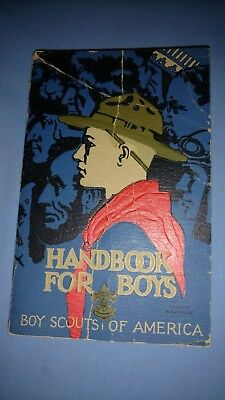 Boy Scouts-Handbook for Boys-1st Edition-24th Printing-Rockwell Cover-1936