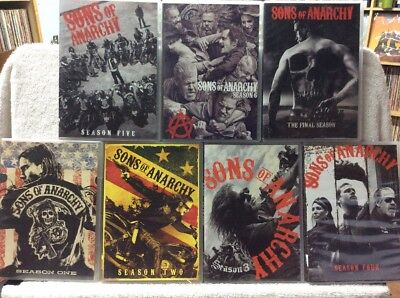 Son's Of Anarchy: The Complete Series DVD 30 Disc Katey Sagal Charlie Hunnam