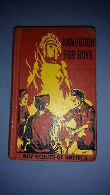 Boy Scouts-Handbook for boys-1957-5th Edition-11th Printing-Hardcover