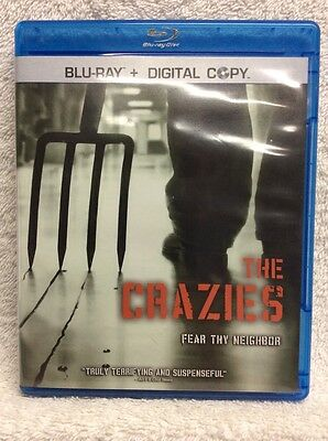 The Crazies BLURAY Timothy Olyphant Radha Mitchell Joe Anderson