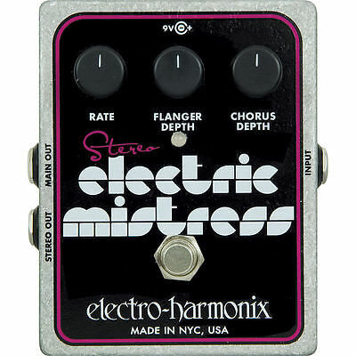 Electro-Harmonix Stereo Electric Mistress Flanger Guitar Effect Pedal