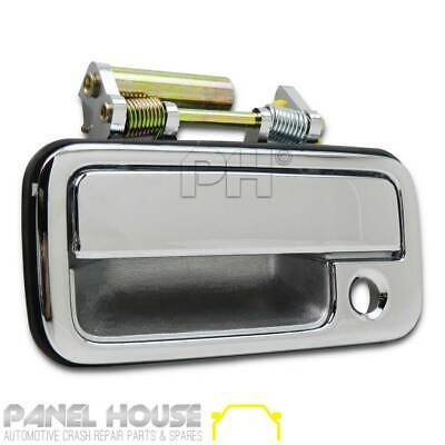 Door Handle Chrome Front Outer LH Passengers Side for Holden Rodeo TF Ute '88-'0
