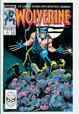 Wolverine #1 Marvel 1988 NM- Premiere Issue