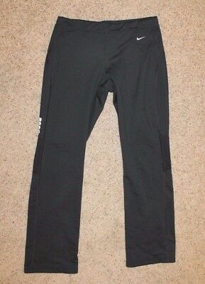 Nike Black Cold Weather Running Pants Women's Size Small Insulated 322392-010