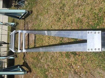 Unused 40' Heavy Duty Aluminum Commercial Boat Trailer Frame