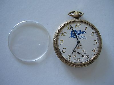 "Elgin pocket watch Cadillac ''Standard of the World"" on dial 15j c.1922 runs USA"