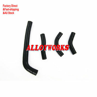 SILICONE RADIATOR BLACK HOSES KITS For FOR HONDA CRF250 CRF250R 2010 AW