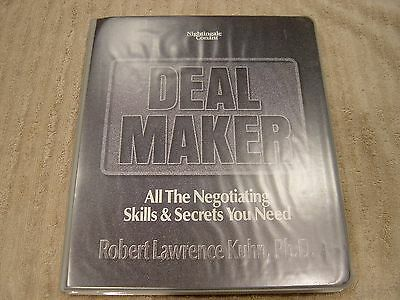 Robert Lawrence Kuhn PHD Deal Maker All The Negotiating Skills Secrets you Need