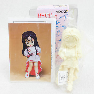RARE! Ah My Goddess Skuld SQLD Unpainted Model Kit Figure Vorks 1990 JAPAN ANIME