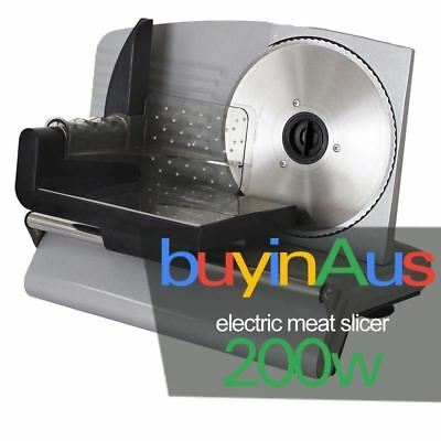 New SOGA Electric Meat Slicer- Food Cheese Processor Bread Vegetable 200W