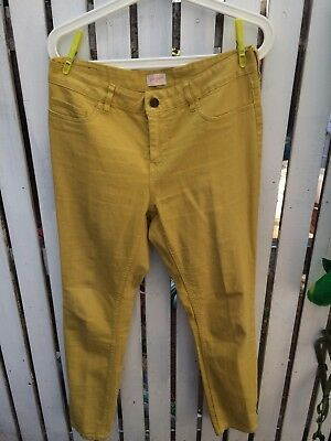 Gorman size 12 Jeans in bright yellow in very good condition