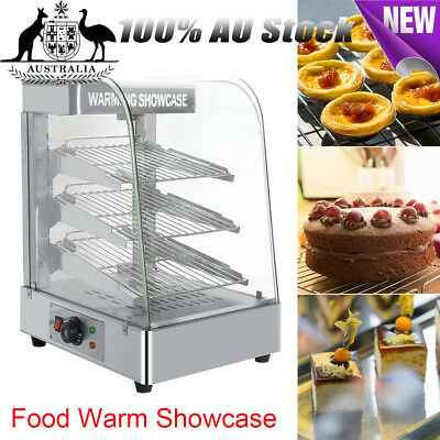 Commercial Pie Pizza Food Warmer Stainless Steel Hot Display Showcase Cabinet