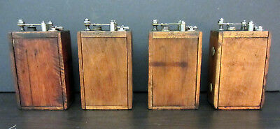 Restored 4 Ford Model T/a Wood Case Buzz Ignition Coils- K-W Points/ford Script