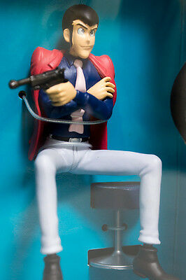 Lupin The 3rd Third Family Figure On The Chair Lupin Banpresto JAPAN ANIME
