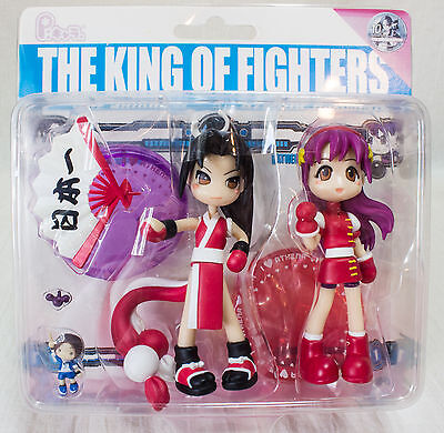 The King of Fighters P:Chara Figure Mai Shiraishi Athena Asamiya JAPAN ANIME