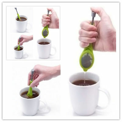 Healthy Easy to operate Steps Tea Infuser Tools Bags Loose Leaf Steeper & Press