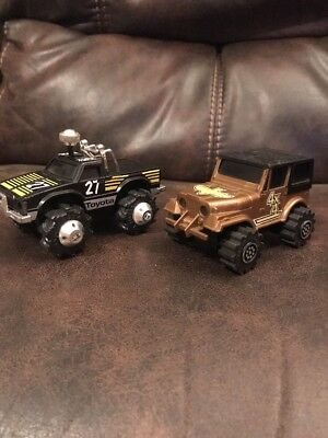 Lot Of 2 Rough Riders Toyota And Jeep Untested