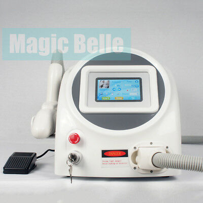 Q Switched Nd Yag Laser 1064nm 532nm Tattoo Eyebrow Pigment Removal Machine