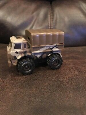 Schaper Stomper Army Truck With Cover Does Not Run
