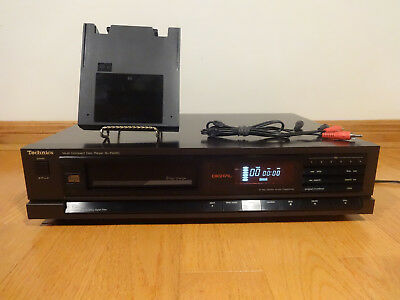 Technics SL-P405C 6-Disc CD Compact Disc Changer 1988 Japan TESTED 100% Working