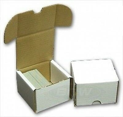 200 Count Storage Box (Qty = 10). Collector's Supply co. Brand New