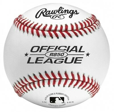 Rawlings Official League Practise Ball (Pack of 12). Huge Saving