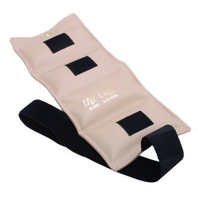 (2.7kg, Beige) - the Cuff 10-2510 Deluxe Ankle and Wrist Weight 2.7kg. Beige