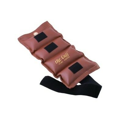 (4.5kg, Brown) - the Cuff 10-2515 Deluxe Ankle and Wrist Weight 4.5kg. Brown