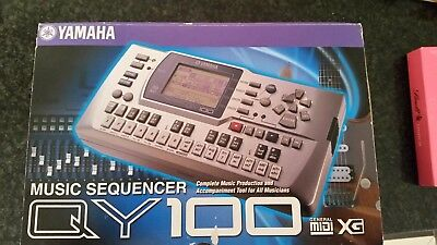Yamaha QY100 Music Sequencer. - Free Australia Wide Postage