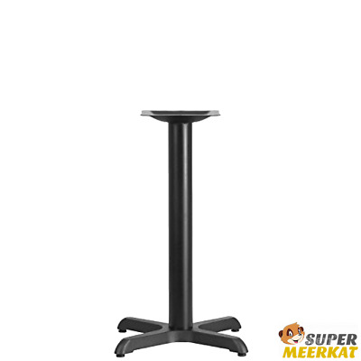 Table Base Cast Iron Stand For Restaurant Industrial Dining Height 22 X 22 In