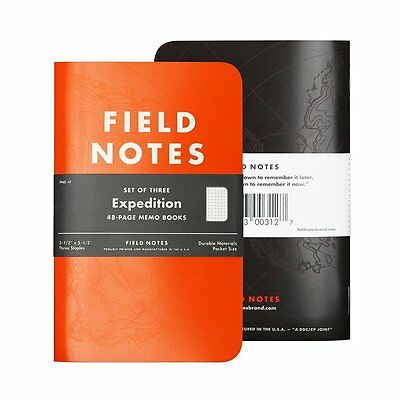 Field Notes Expedition Dot Grid Graph 3-Pack